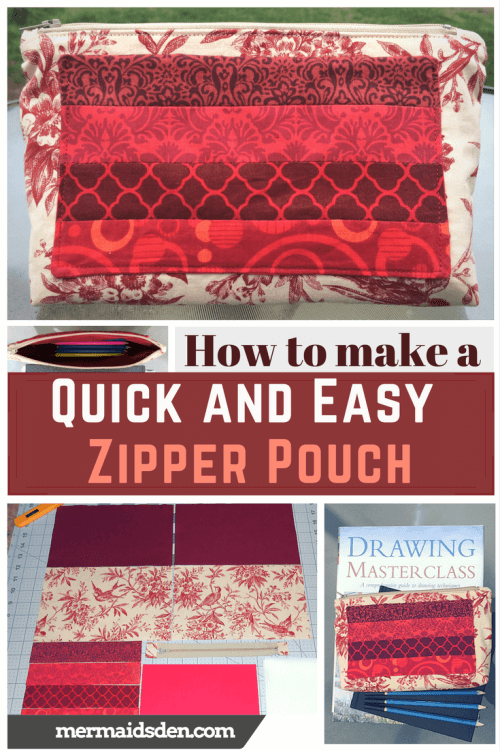 Make an Easy Zipper Pouch