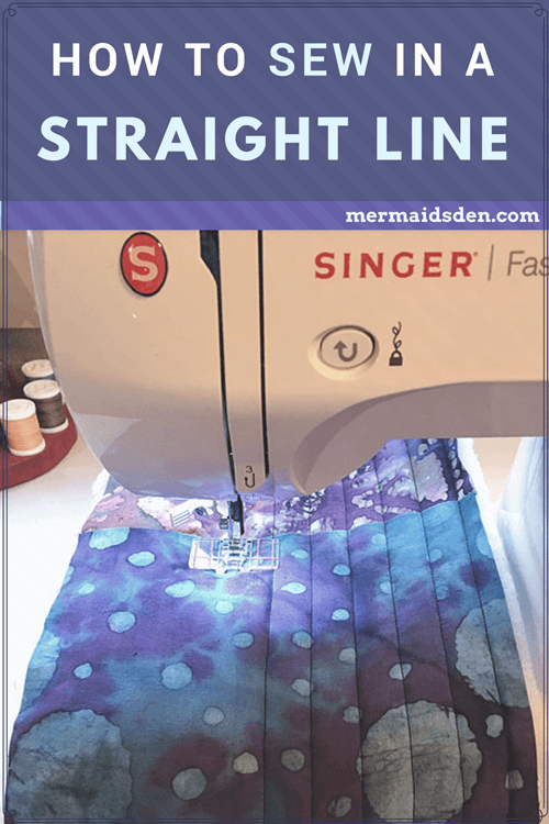 How to Sew in a Straight Line