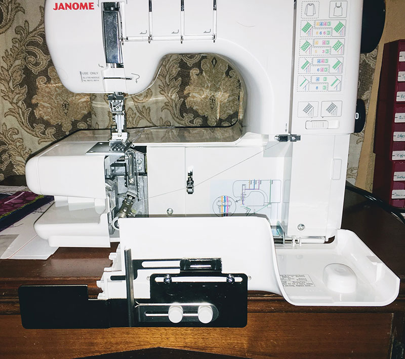 Using the Hem Guide Attachment for Coverstitch Machines