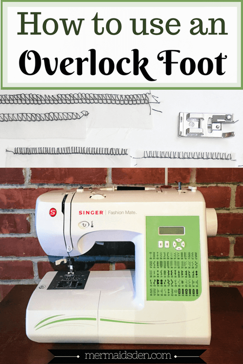 """Sewing Hacks Tested: Can You """"Serge"""" with Your Sewing Machine Using an Overlock Foot?"""