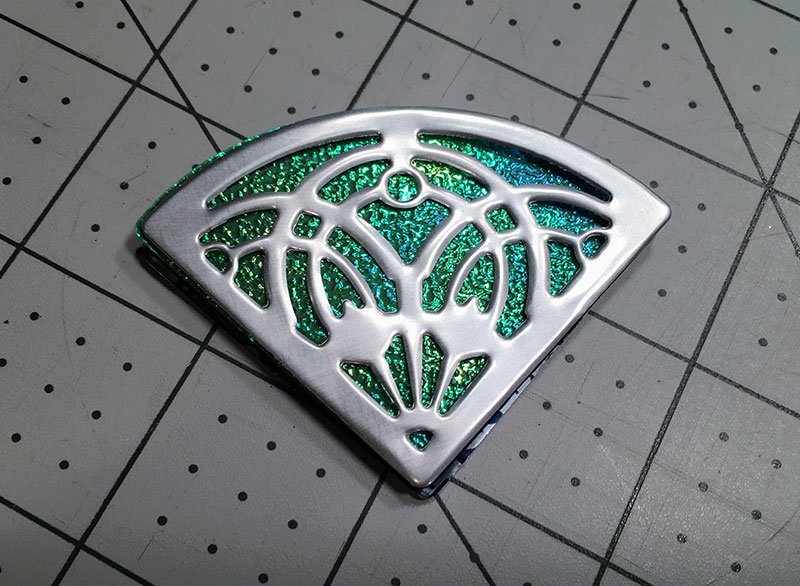 How to Make a Pendant from Soda Cans