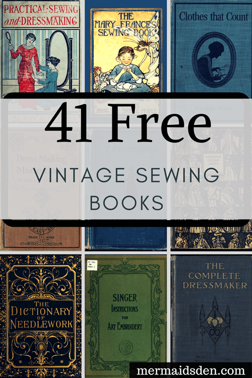 Free Sewing Books