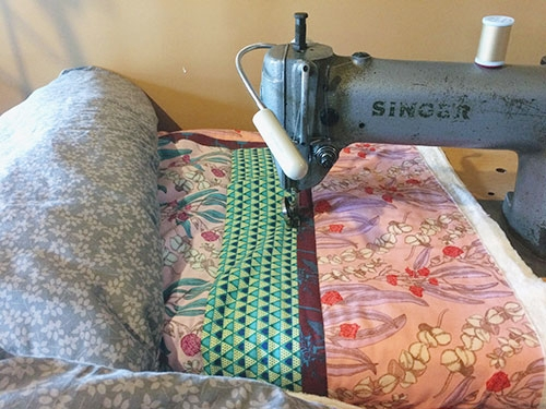 Quilting with Singer 281-1