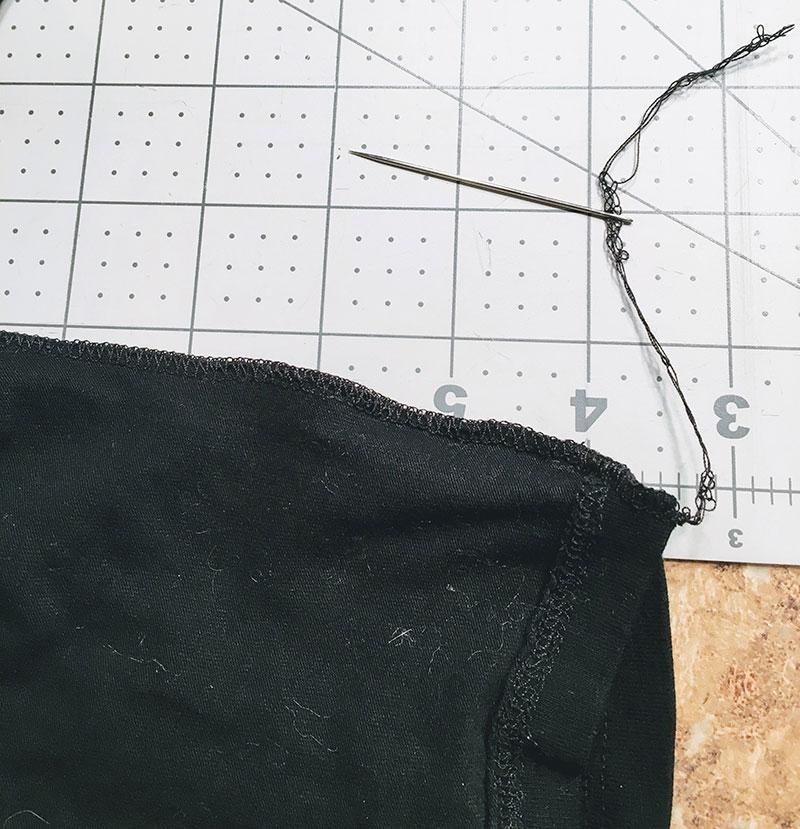 Repair Worn Seams on Leggings