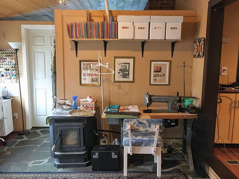 Mermaid's Den Craft Room Tour