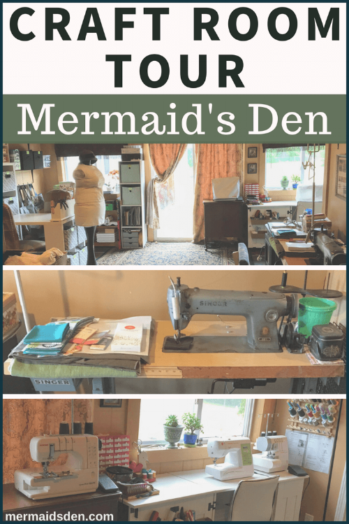 Mermaid's Den Craft Room Tour and Organizational Tips