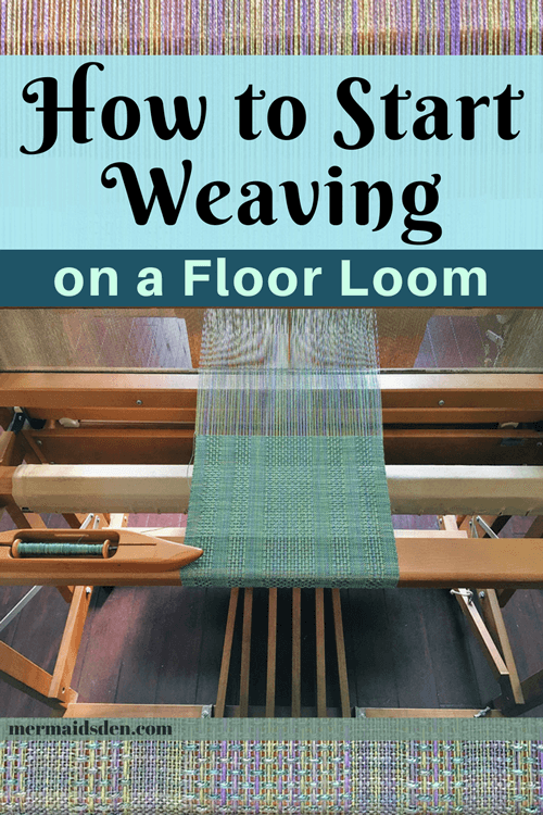 Weaving for Beginners on a Leclerc Artisat Floor Loom