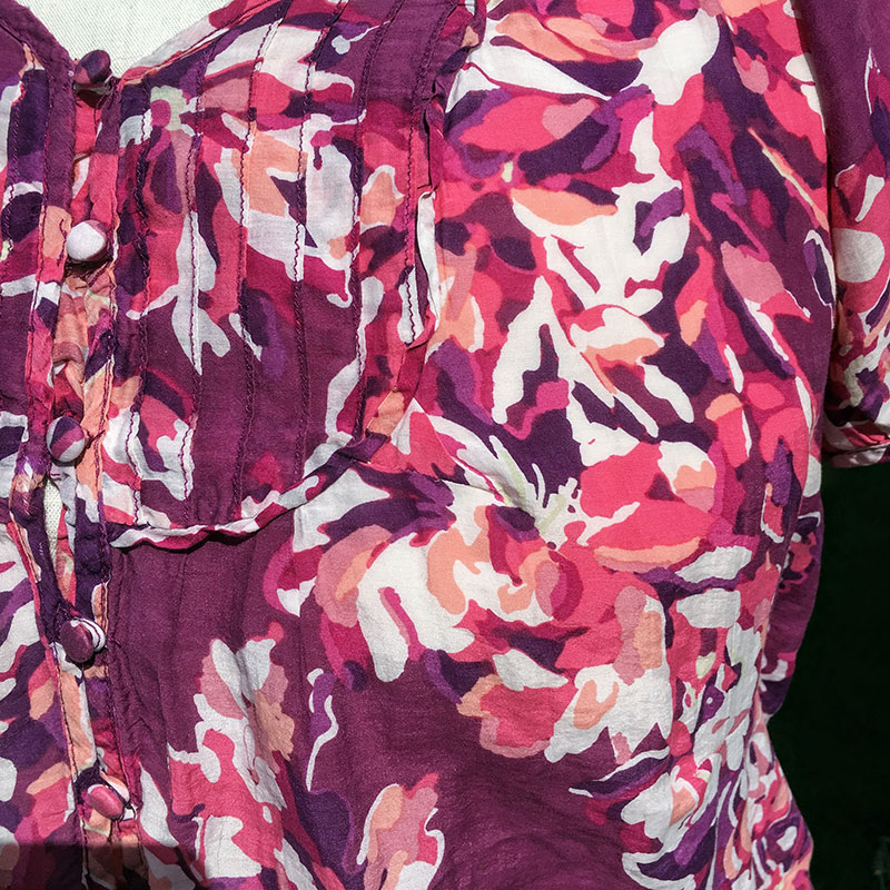Everyday Mending: Sew Up a Rip in a Blouse