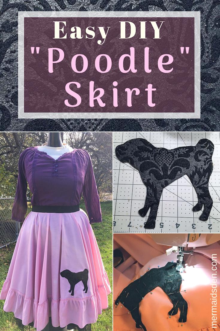 Easy DIY Poodle Skirt Tutorial