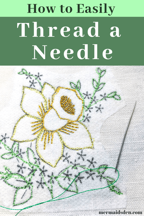 How to easily thread a needle