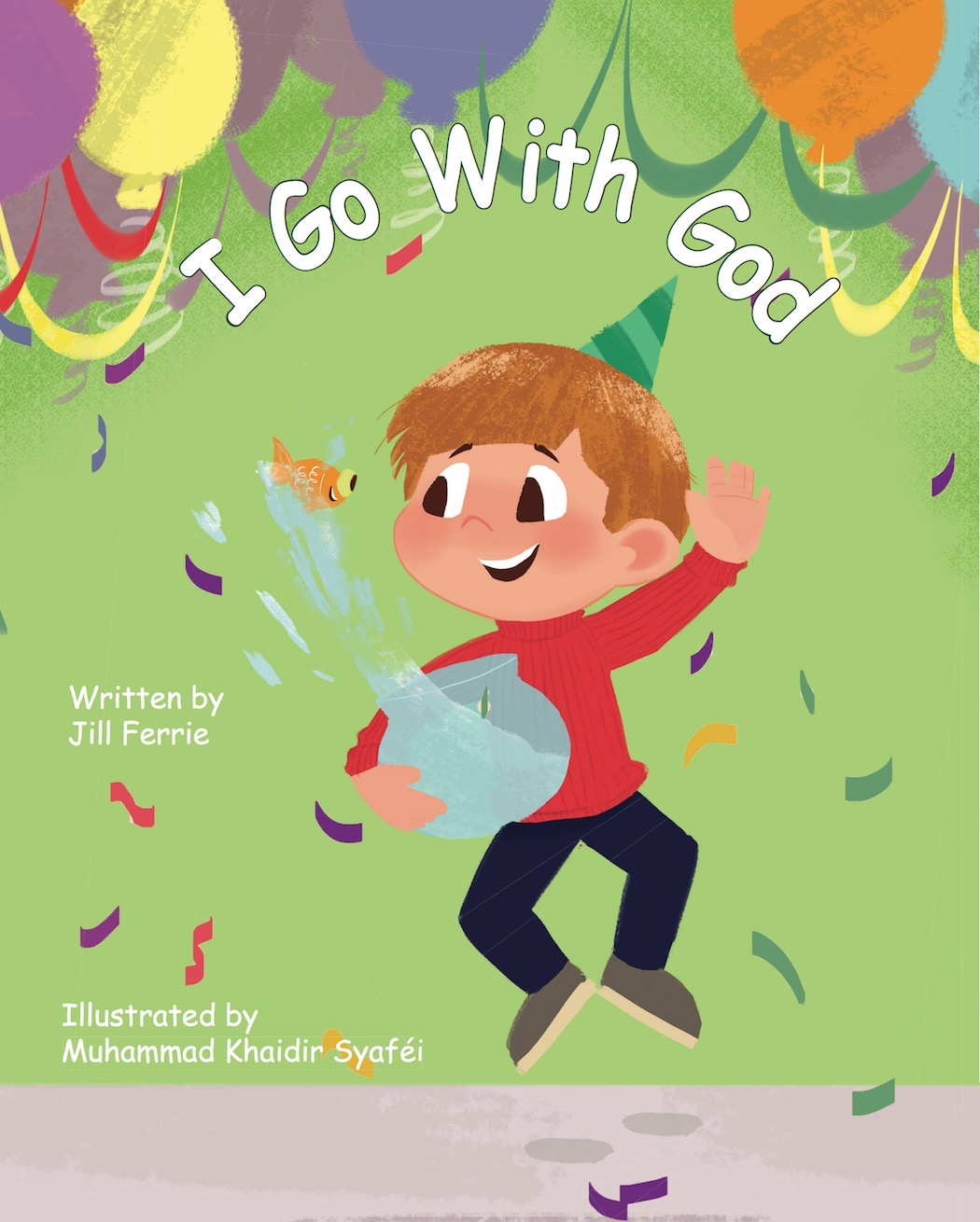 I Go With God - Prayer is the superpower! A young boy discovers that God's angel messages come to help him through prayer-when he wakes up feeling sick the day of his friend's big party. God's angels also give him the right thoughts he needs to help his pet fish. The boy quickly learns he can pray to God anytime, anywhere because God is Spirit and is always with him. So help is always at hand.Hard Cover: 978-0-9976560-0-8Soft Cover: 978-0-9976560-2-2