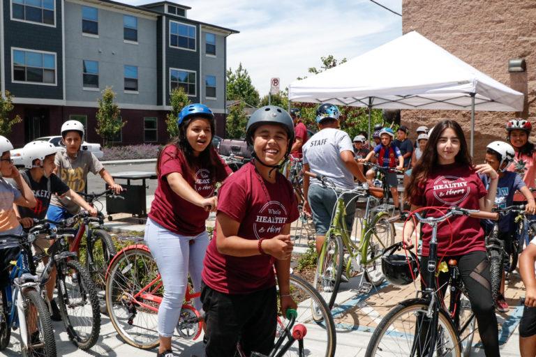 Youth join the Bulldog Riders leadership program at Siena Youth Center.