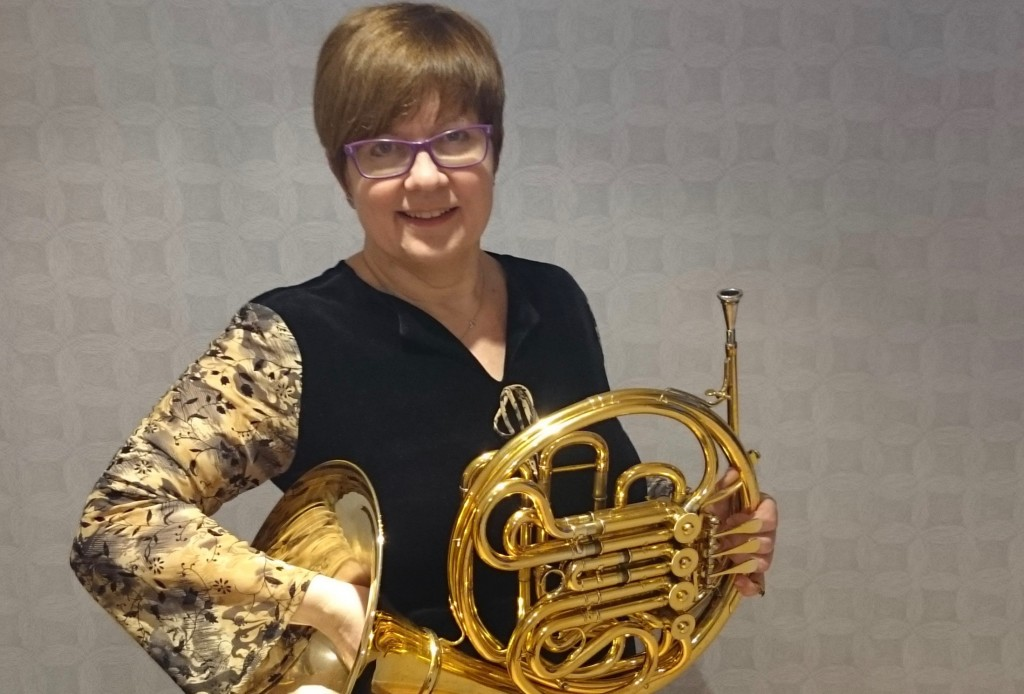 Sheri (French Horn, Trumpet, Trombone Tutor)   Sheri is a French hornist from Canada who has recently moved to the Wirral via Poland, where she lived for a number of years. Sheri started on trombone in school but fell in love with the sound of the French horn not long after and made the switch. She finished a B.Mus.Ed. degree in Regina, where she was the principal horn of the South Saskatchewan Youth Orchestra and also.... More