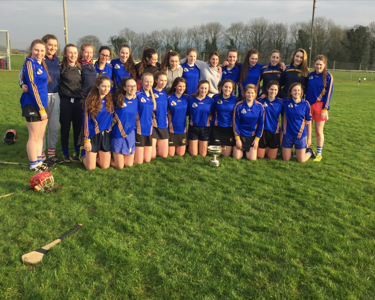 Camogie - Our First year players start the camogie year off by competing in the Cork Colleges Blitz. The league commences later in the school year. This year our girls are competing in the B League after successfully winning last year's league.Following on from the success of the 2016/2017 season, with our Juniors winning both the County and Munster titles and our Seniors winning both a County and Intermediate title, both teams are now competing in higher divisions this year:Cork Colleges Junior-Division ASenior- Division AMunsterJunior- Division B Senior- third highest levelThe Munster competition advances to All Ireland level and we were successful to be crowned All Ireland Champions in 2012. Following on from this success we have been fortune that every passing school year is a successful one for our camogie teams.You can keep up to date with all the latest fixtures and results by following @CamogieKCS