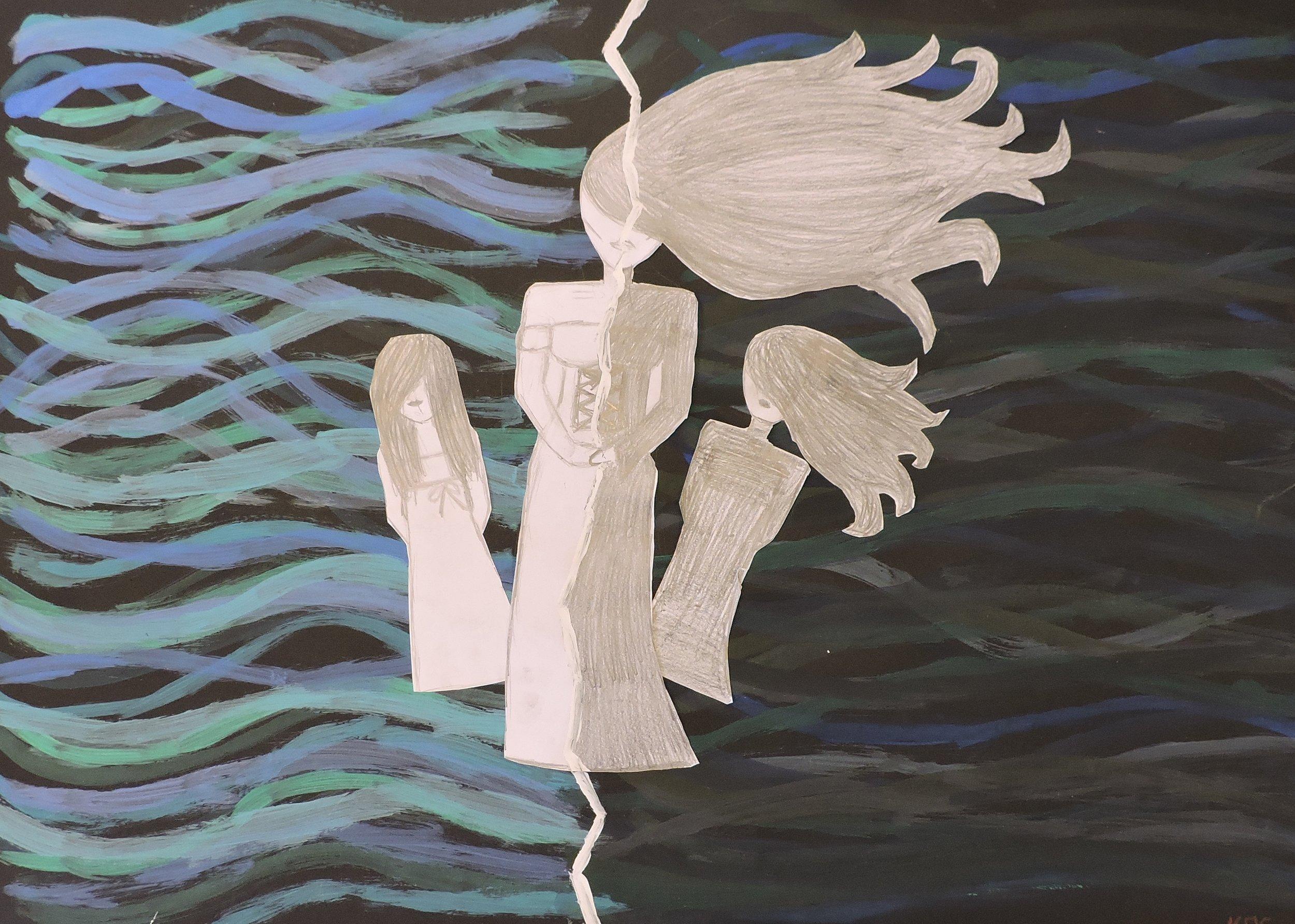 'Floating Away' - Kitty O'Sullivan (Y2).JPG
