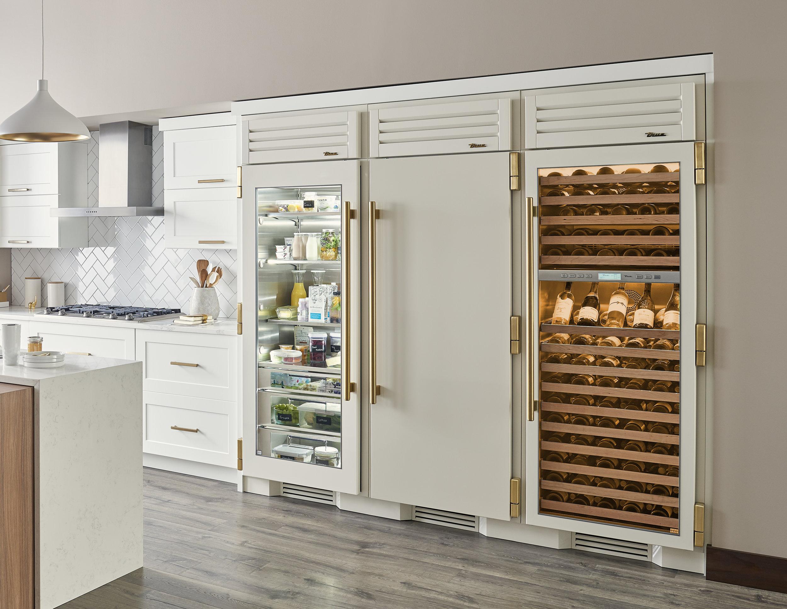 See-Through Refrigerator True Manufacturing
