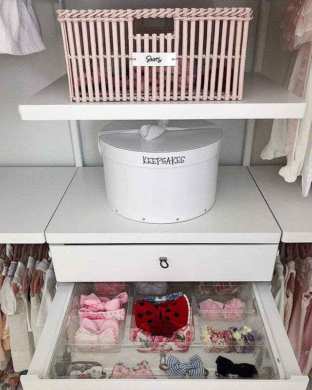 This NEAT baby girl has one of the best headband collections so we wanted to make sure all those pretty bows were easy to see!  Also — this Elfa tray insert is one of my favorite go to's for organizing accessories in Elfa drawers. I feel like it's one of @thecontainerstore's best kept secrets too because it's so reasonably priced too! 😉 @neatmethod #neatdc  Follow me on the LIKEtoKNOW.it app to get the product details for this look and others http://liketk.it/2yyfU  #liketkit @liketoknow.it @liketoknow.it.home #LTKbaby #LTKbump #LTKunder50 #theneatlife #beneat #neat #organized #nursery #nurseryinspiration #projectnursery #babycloset #babyaccessories #organizedcloset #organizado #organizedhome #rsorganizing #livesimply