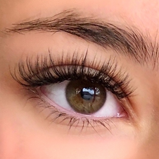 - Hybrid Lash Extensions are a mix of both Classic and Volume styles. Lash artists alternate between single Classic lashes and Volume fans to create a fuller look. This gives a fluffier appearance to the lash line and is a great option for clients who want a slightly more dramatic look.