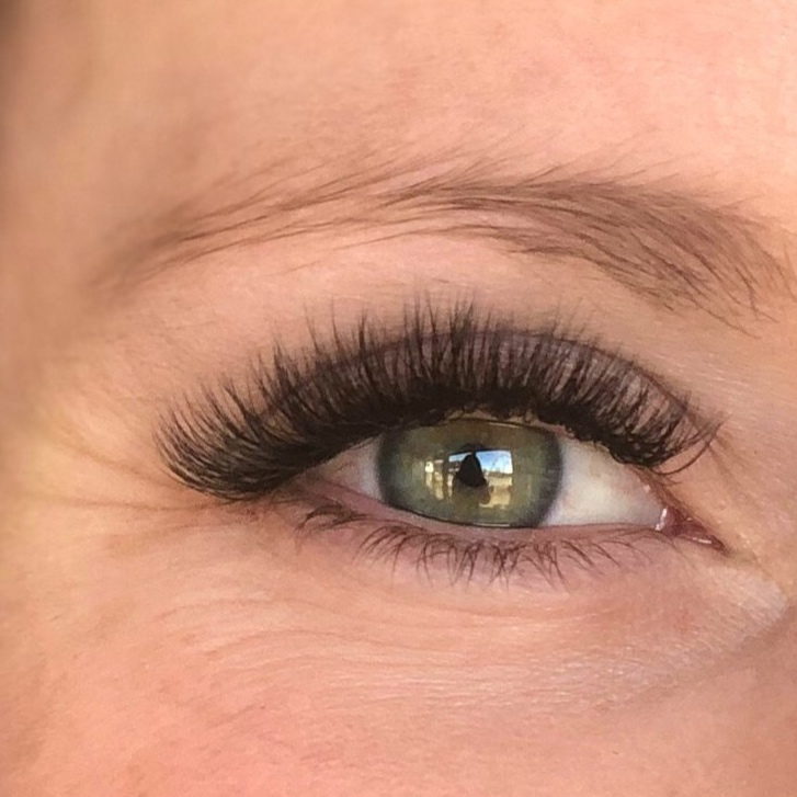 - Volume Lash Extensions are styled by placing multiple extensions on each natural lash. This offers clients a fluffier full look and creates a more dramatic effect. This style is perfect for clients that are looking for a full lash line or who have sparse natural lashes.