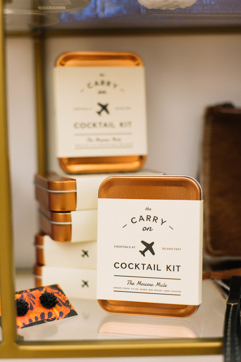 Moscow Mule Carryon Cocktail Kit for Gilded Gifts Trunk Show Giveaway