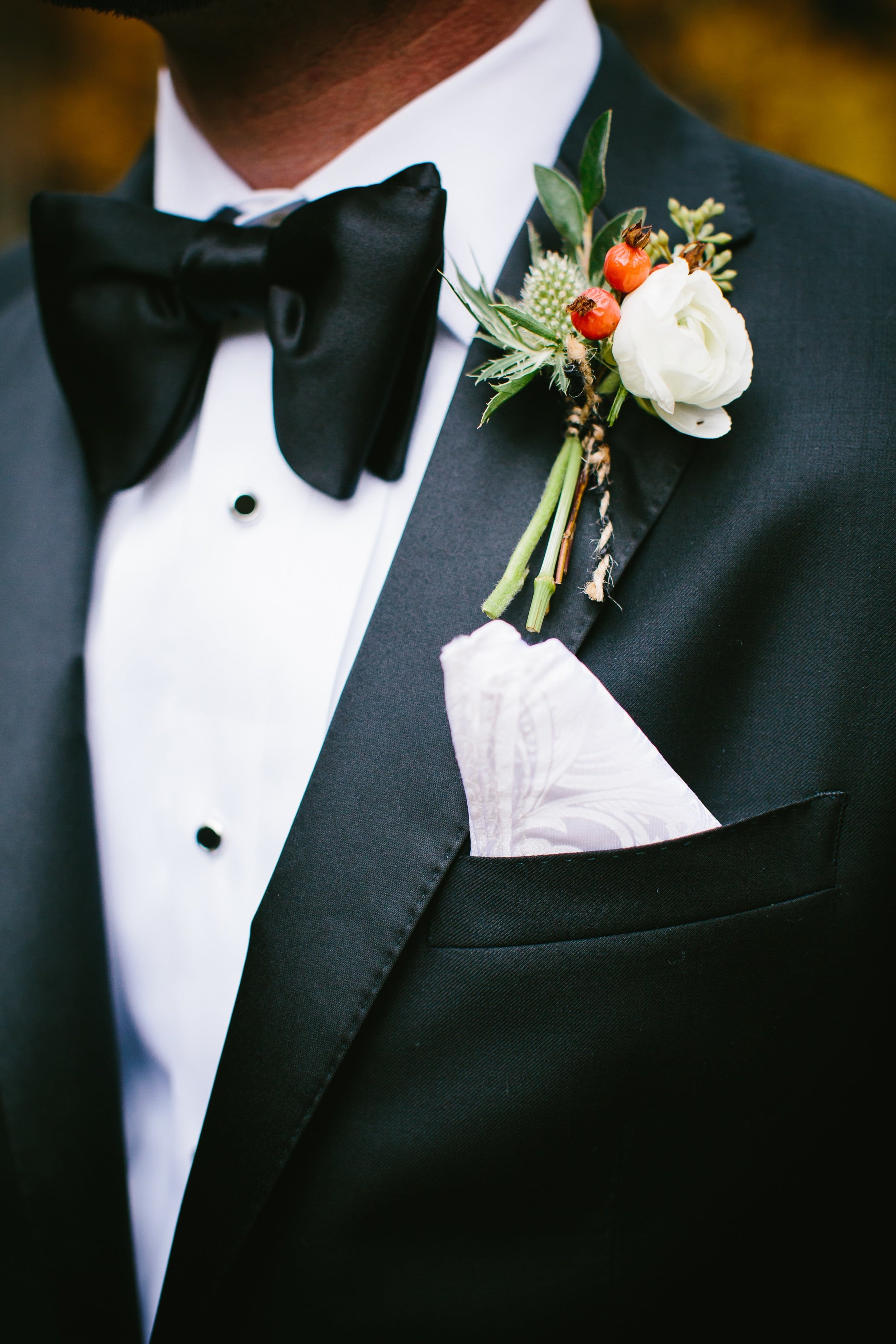 11 Richie's Tom Ford bowtie and custom tuxedo by Threadwell Clothiers