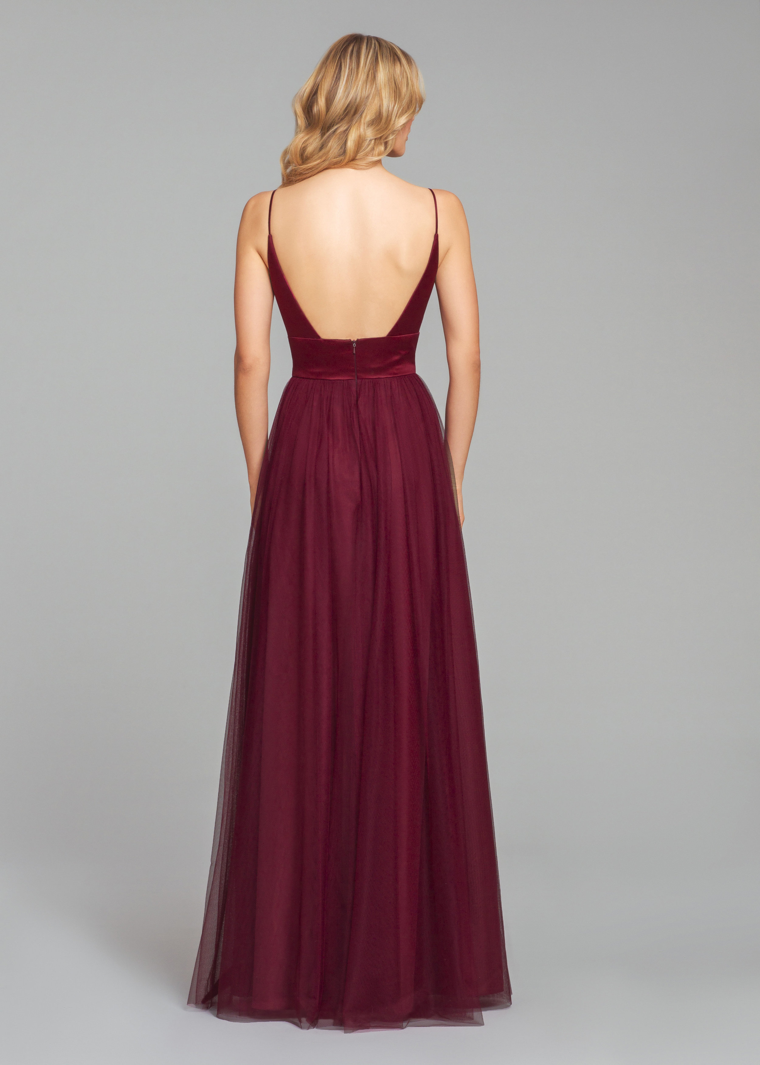 Back detail of style 5856 by Hayley Paige Occasions Bridesmaids