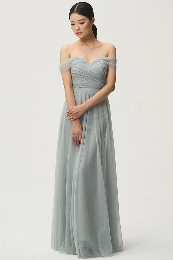 Off the shoulder style Julia by Jenny Yoo Bridesmaids