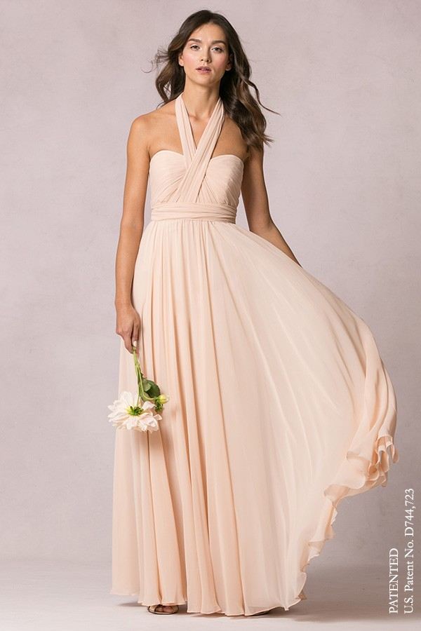 Mira with cross halter straps by Jenny Yoo Bridesmaids