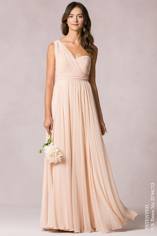 One shoulder strap by Jenny Yoo Bridesmaids