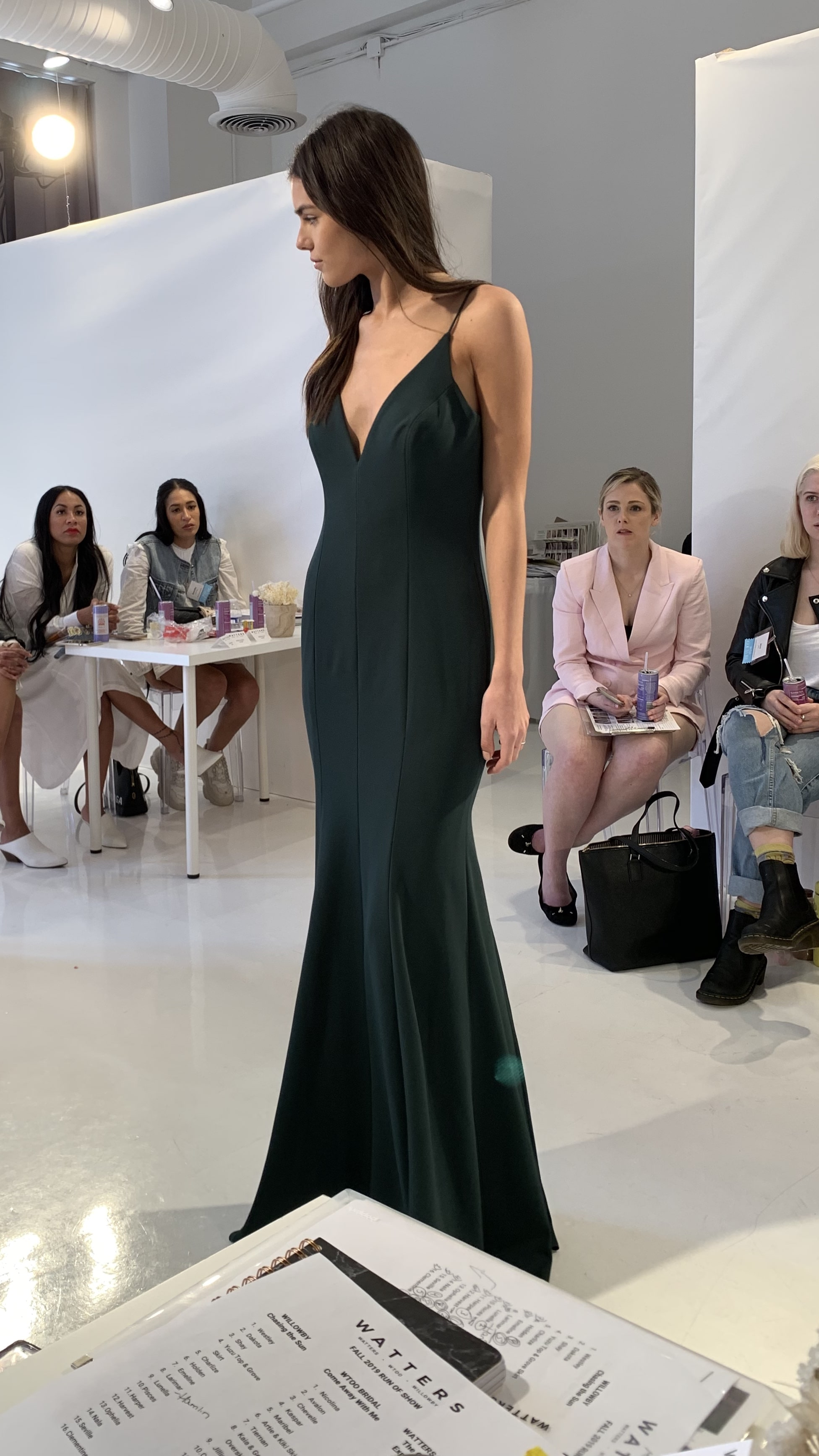 Evergreen Luscious Charmeuse by Watters
