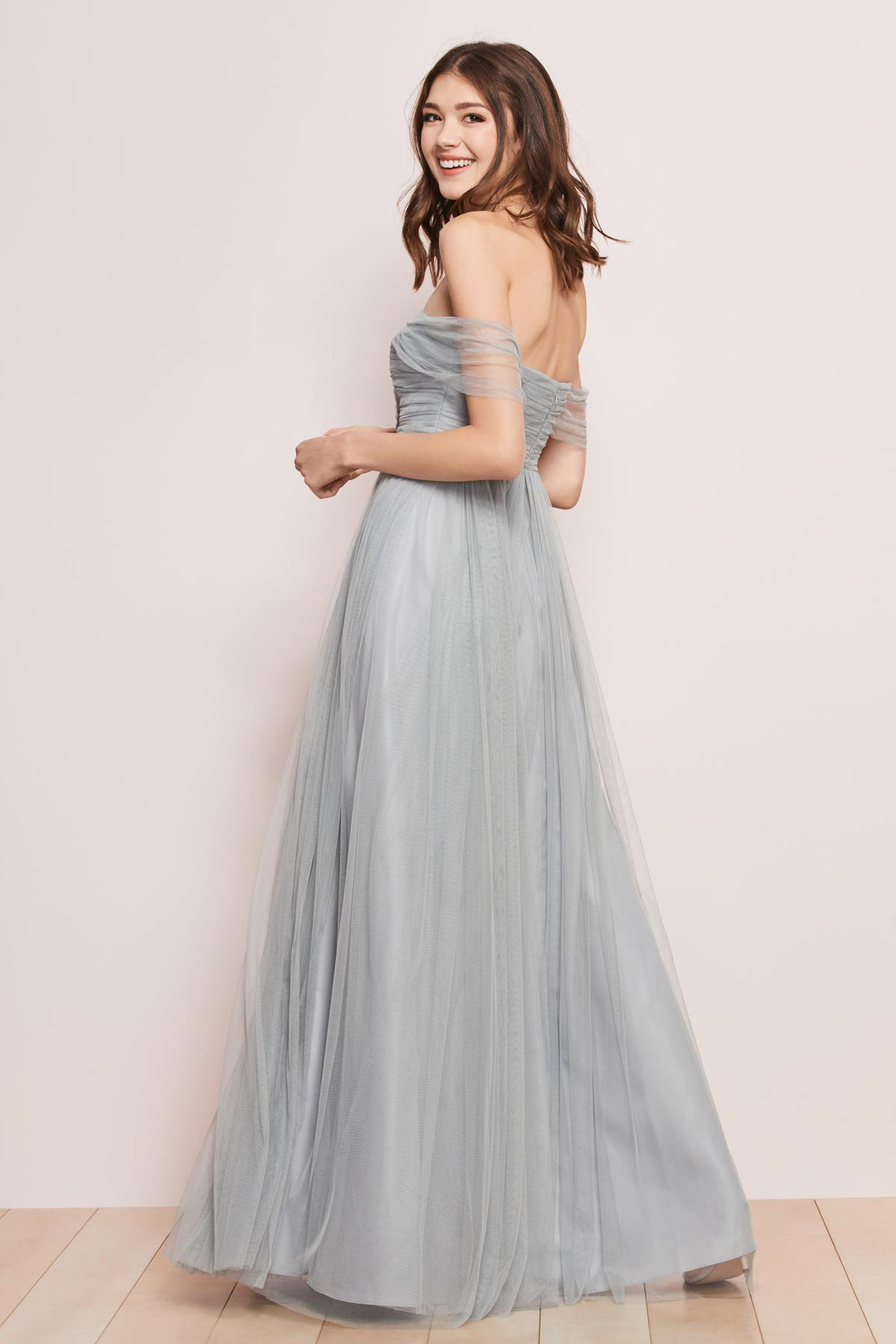 Gilded Social style WTOO by Watters Bridesmaids style 741 Fynn Full length strapless dress