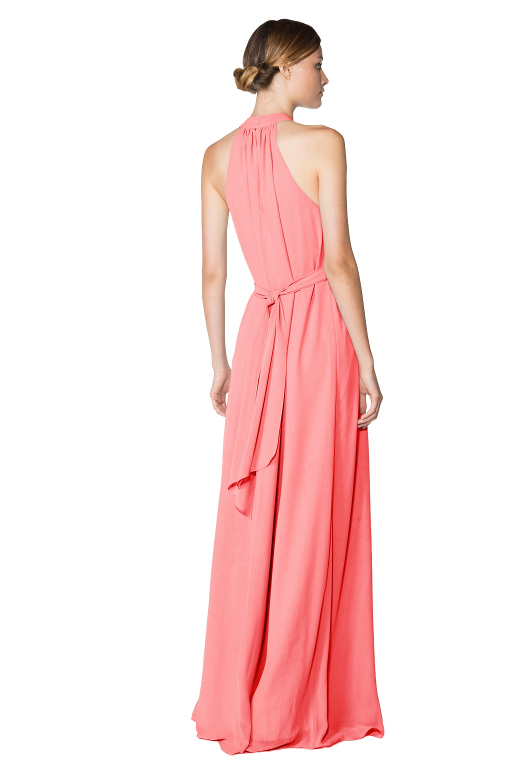 Chiffon style dress with sash Elena by Joanna August