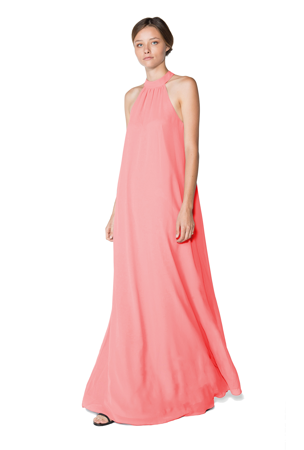 High neck dress by Joanna August style Elena