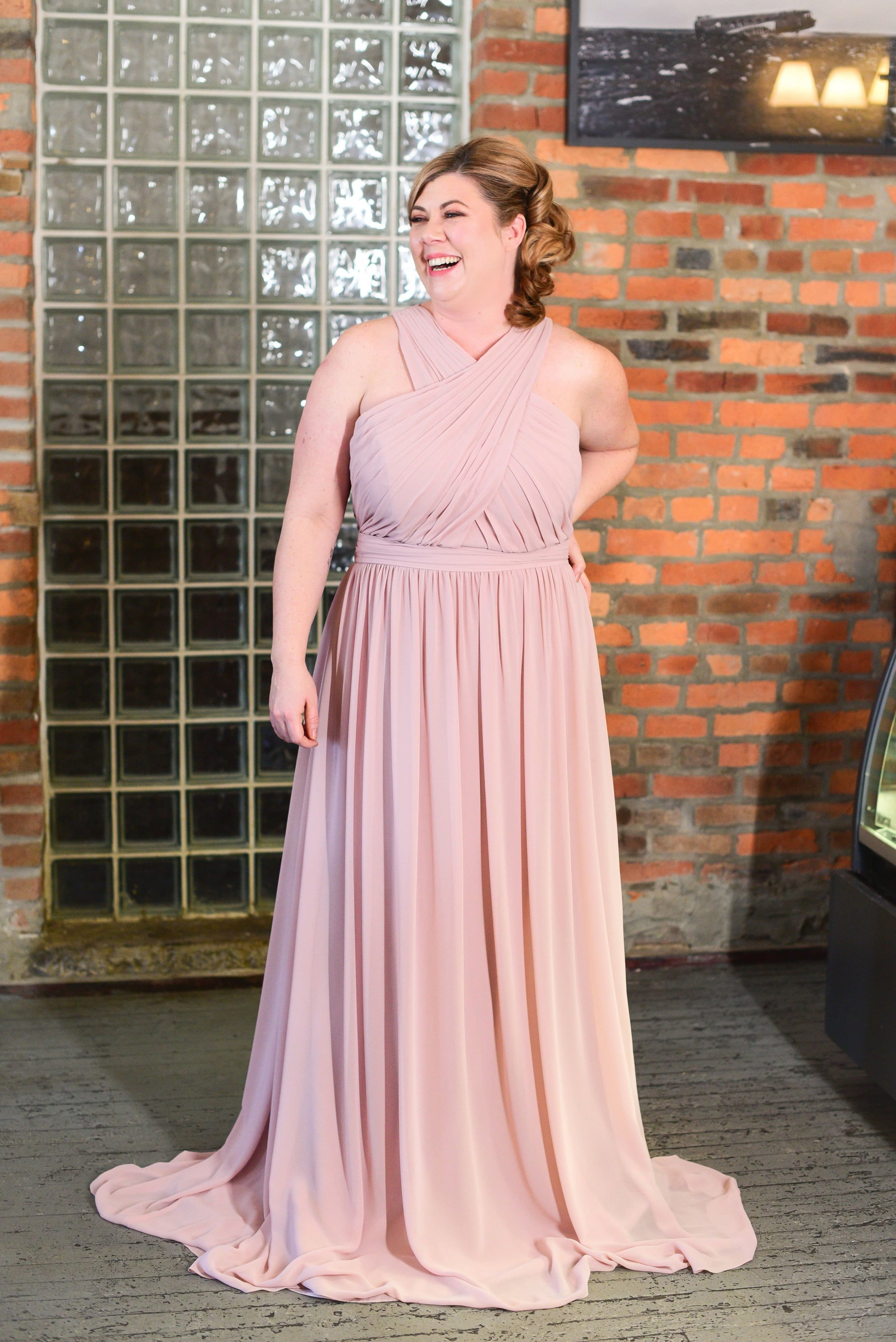5760 by Hayley Paige Occasions in plus size option