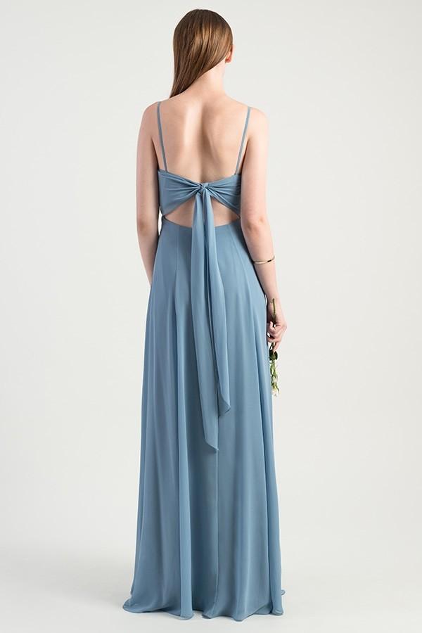 Tie back detail of Jenny Yoo Bridesmaids style Kiara
