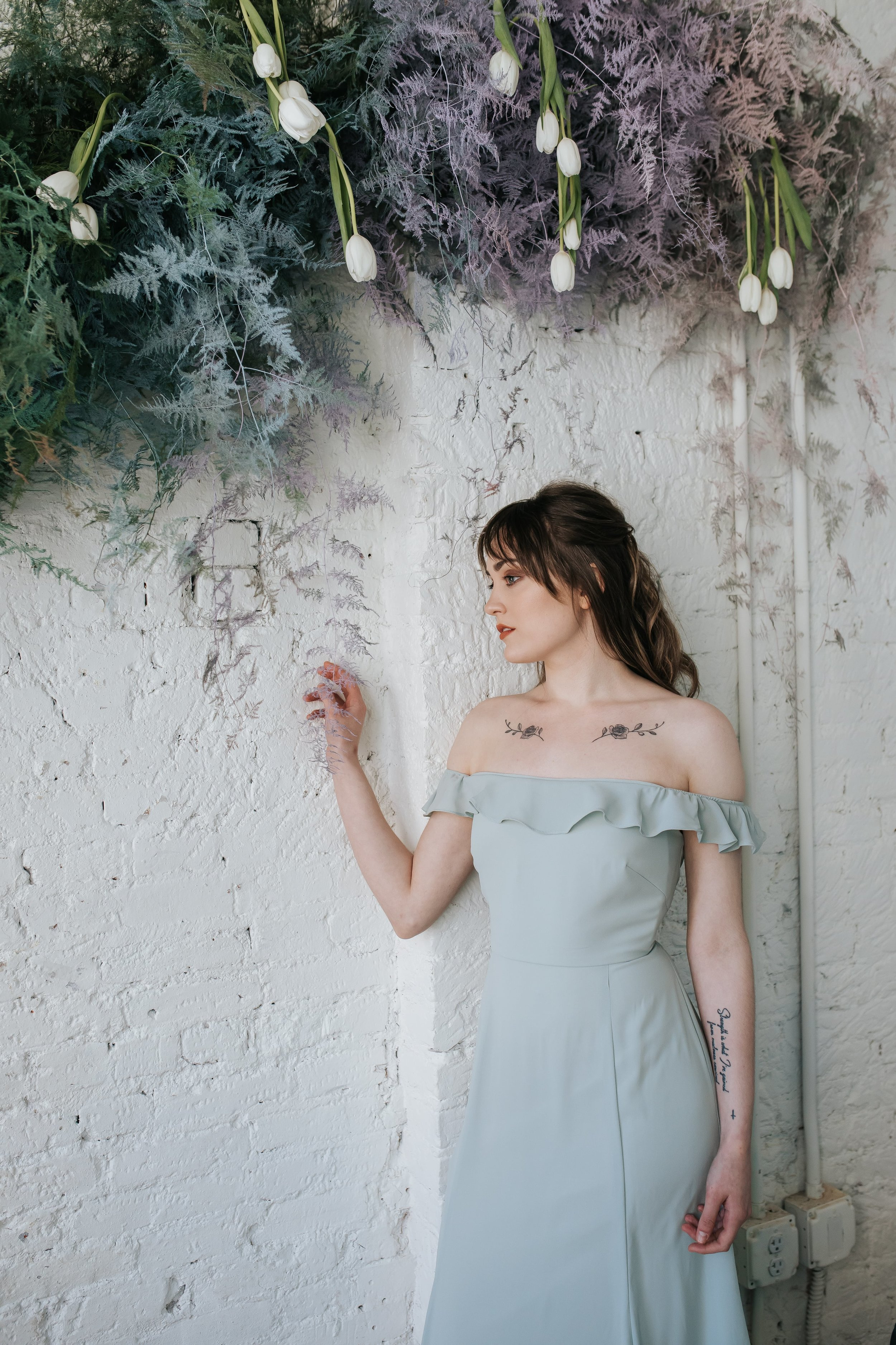 Featured in Columbus Ohio styled shoot Isabella by WToo by Watters Bridesmaids