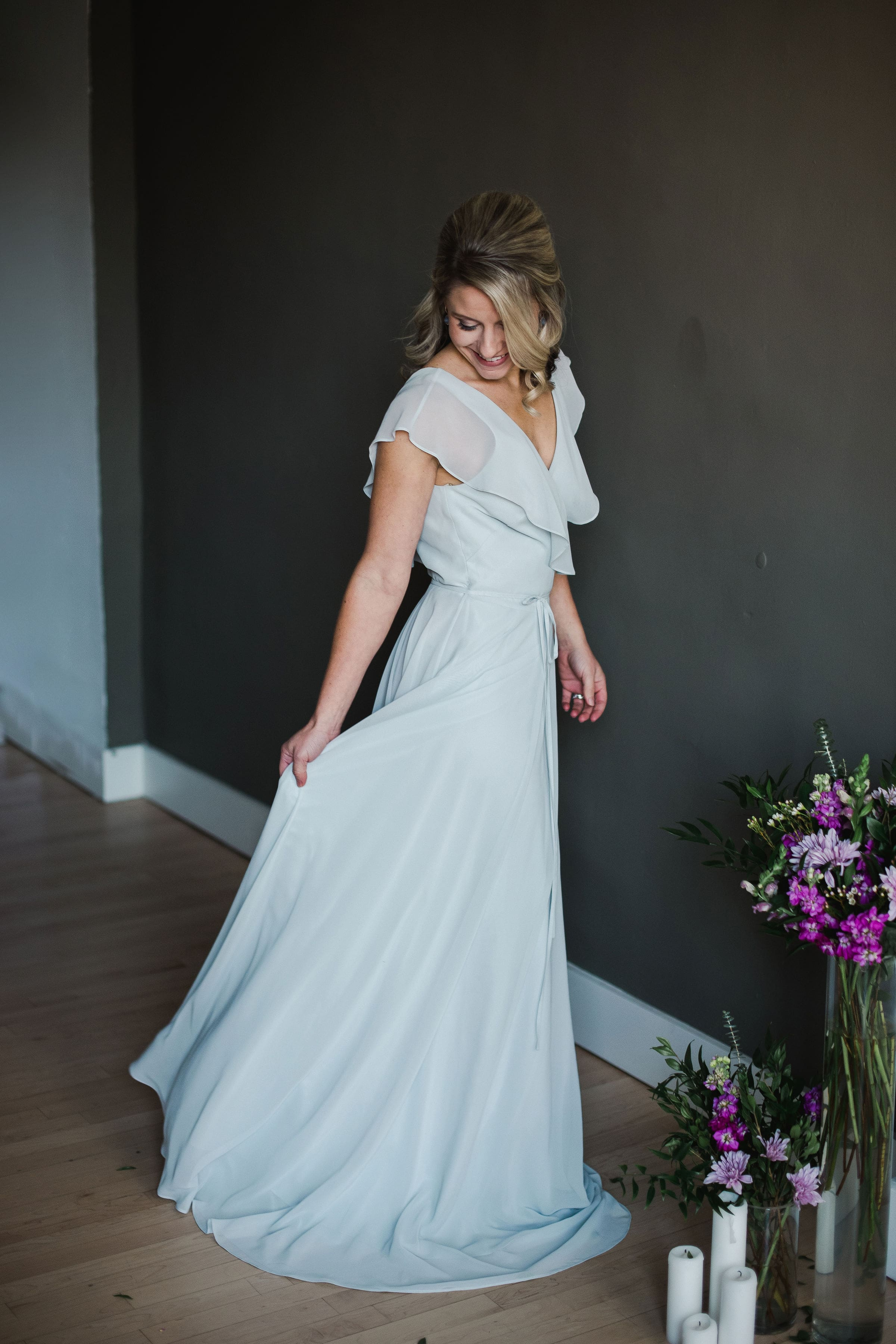 Oh the Heart Spring 2019 Trends Photo Shoot featuring Faye by Jenny Yoo Bridesmaids