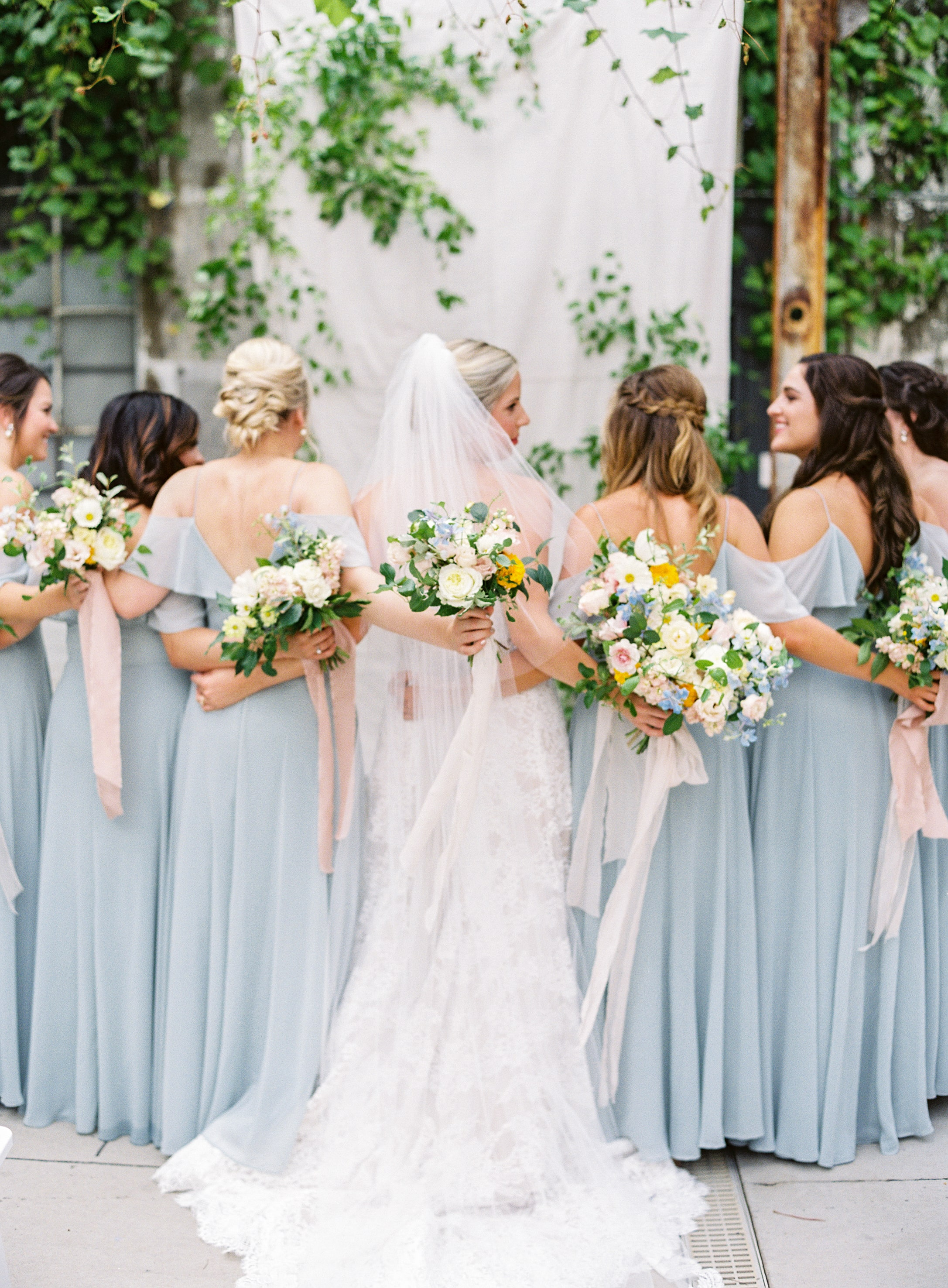 Mila featured in real wedding at Strongwater in Columbus Ohio