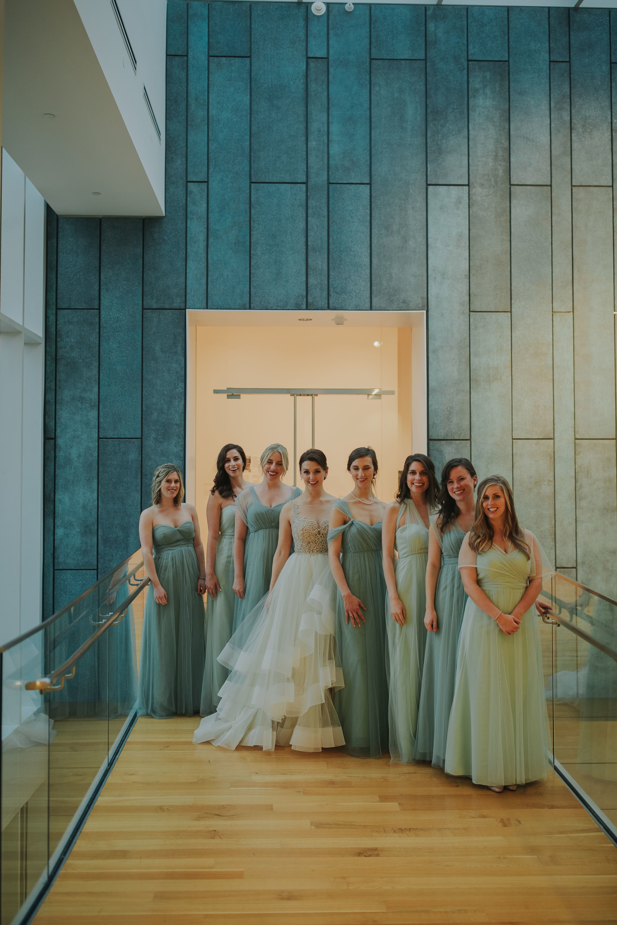 Annabelle by Jenny Yoo at Columbus Museum of Art wedding