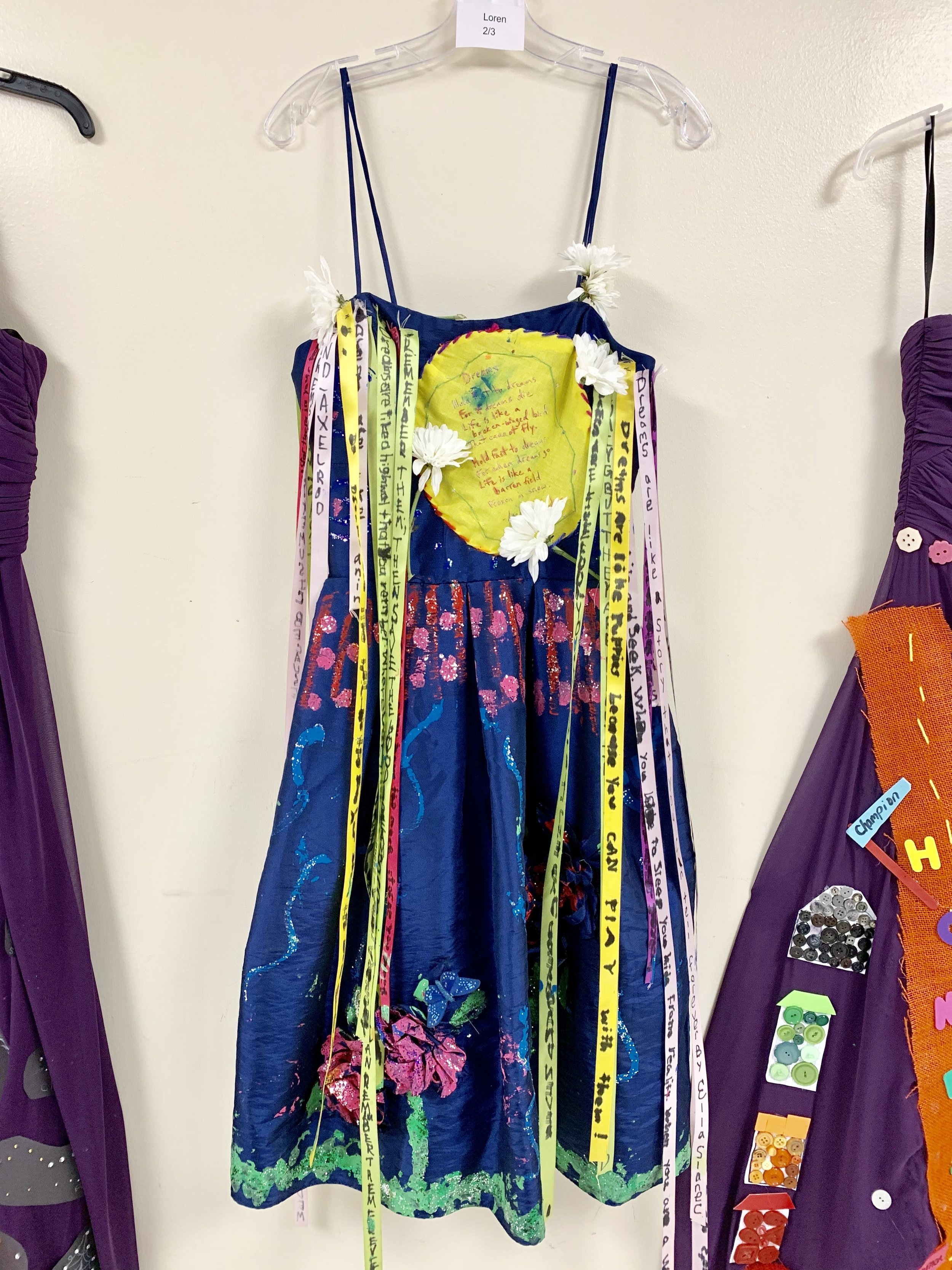 Students make a statement with donated dresses from Gilded Social