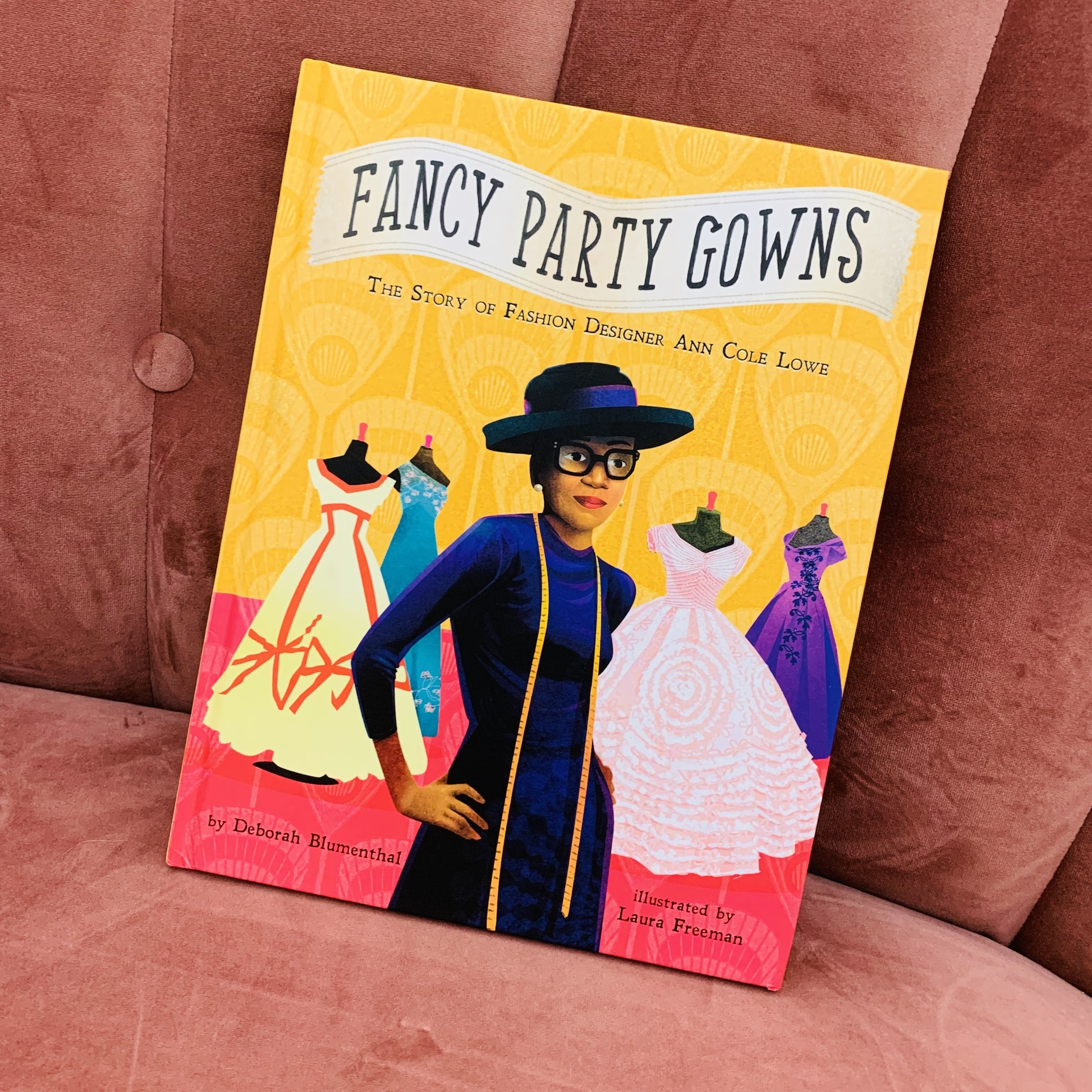 The Story of Fashion Designer Ann Cole Lowe ~ Fancy Party Gowns