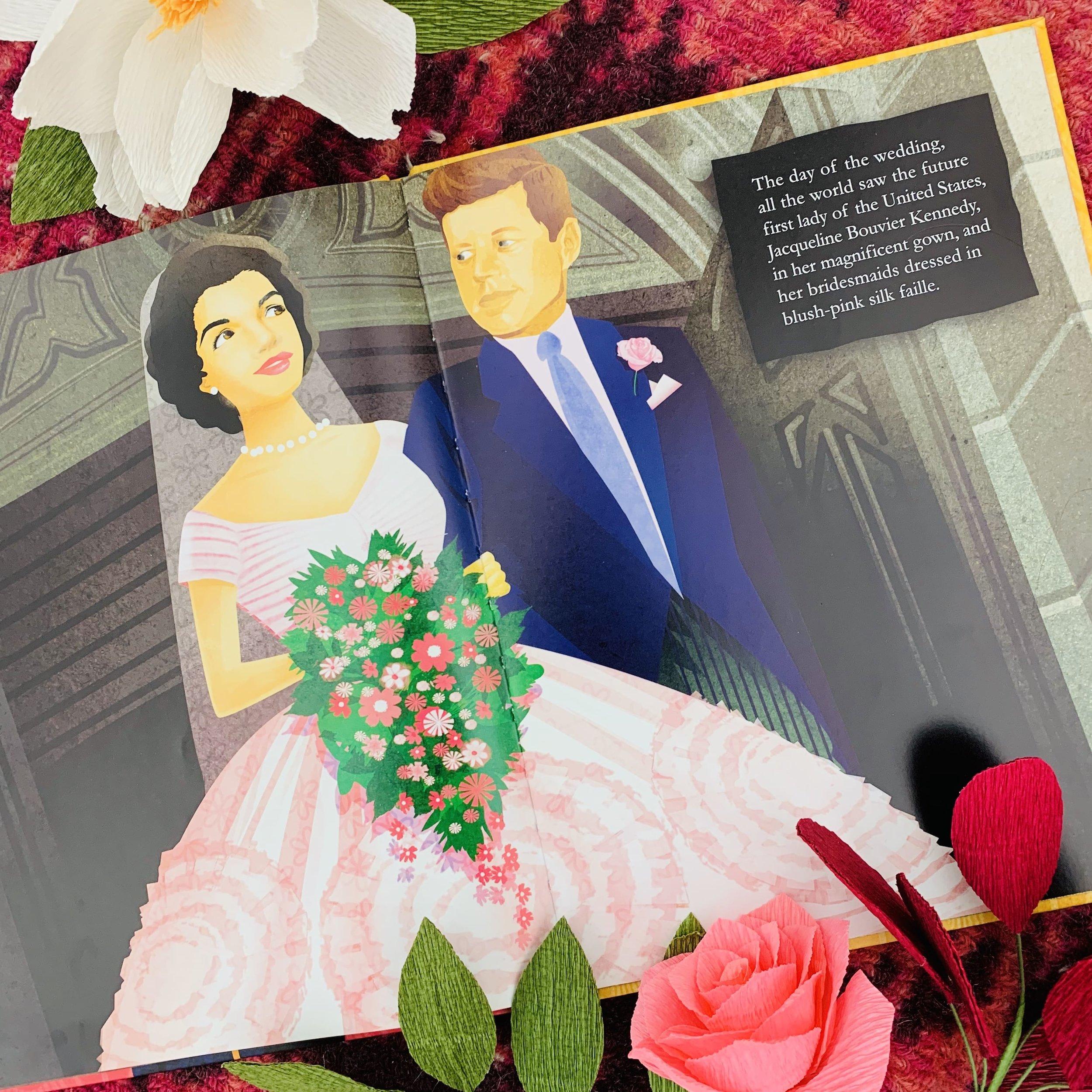 Anne Cole Lowe designed Jacqueline Kennedy's wedding dress