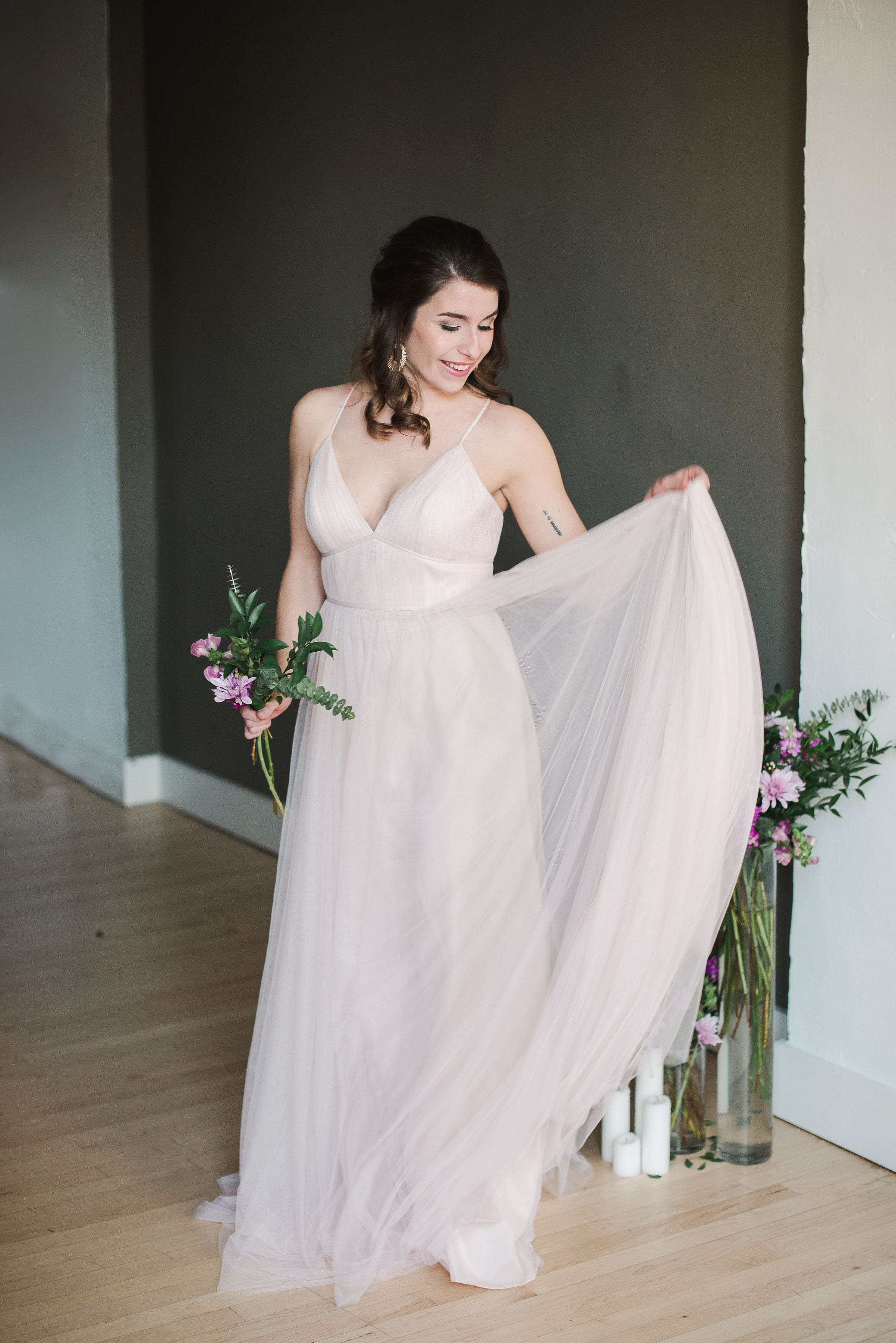 Ali by Jenny Yoo featured in Columbus Ohio styled shoot for spring 2019 trends