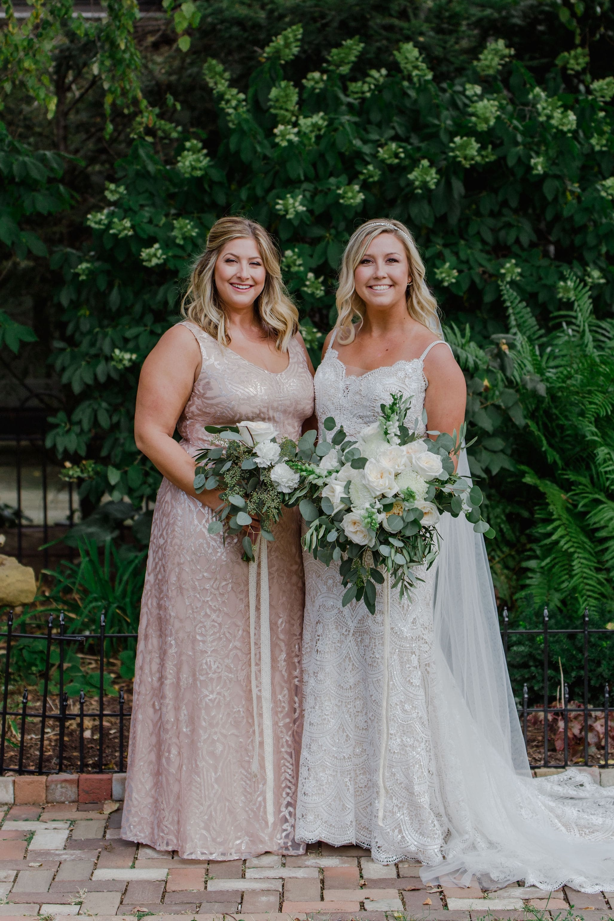 Style 350 by WTOO by Watters Bridesmaids in German Village in Columbus Ohio