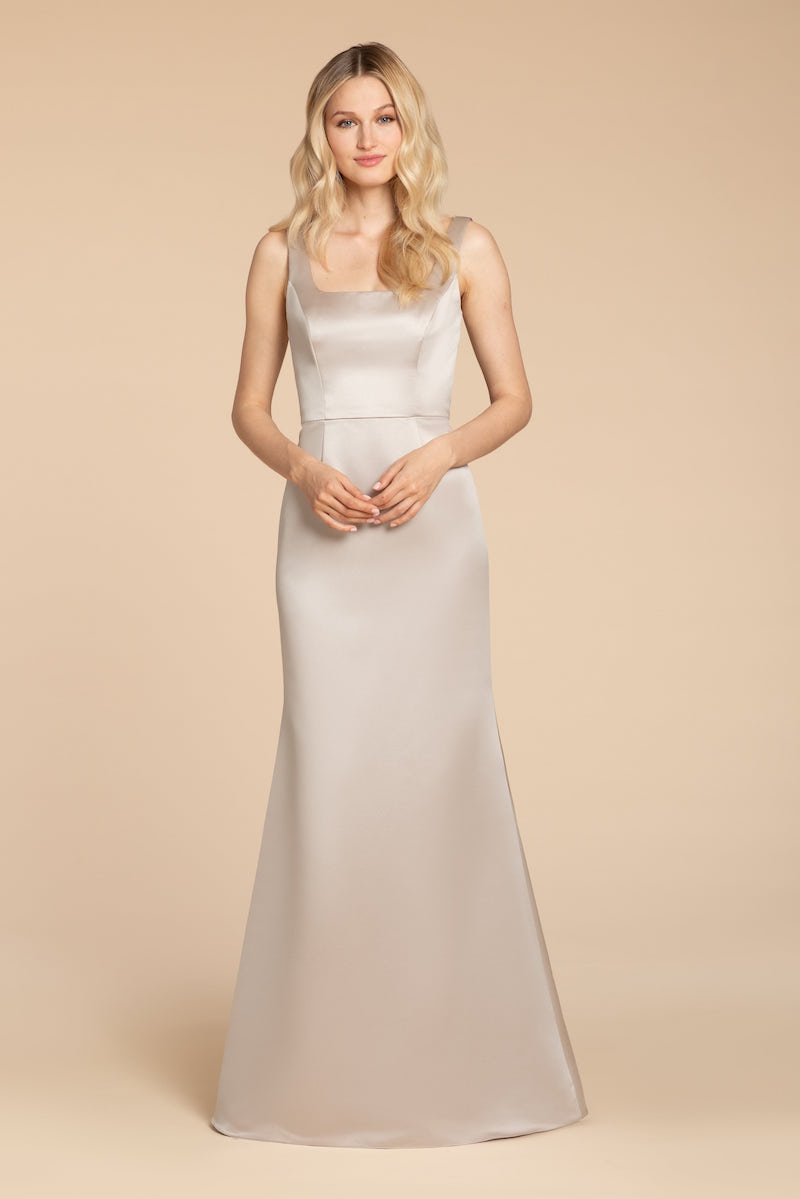 Style 5952 by Hayley Paige Occasions in Candlelight satin