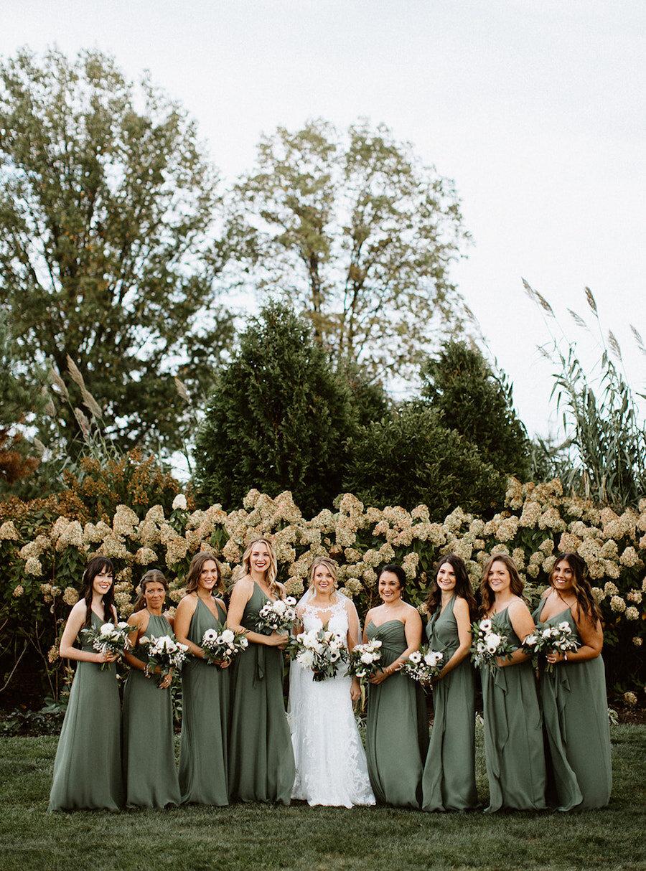 Amsale Nouvelle Bridesmaids collection