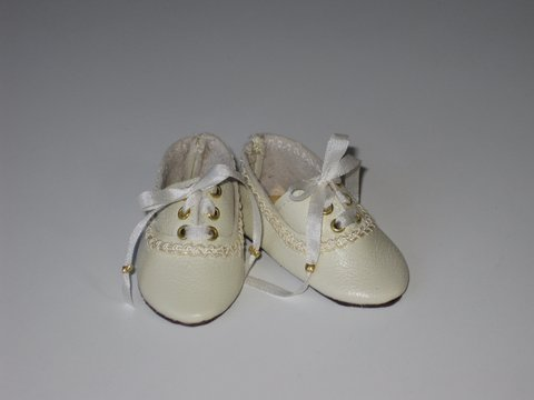 "Doll Shoes 84mm WHITE Sport Shoes Custom for 22/"" Gloria Ann"