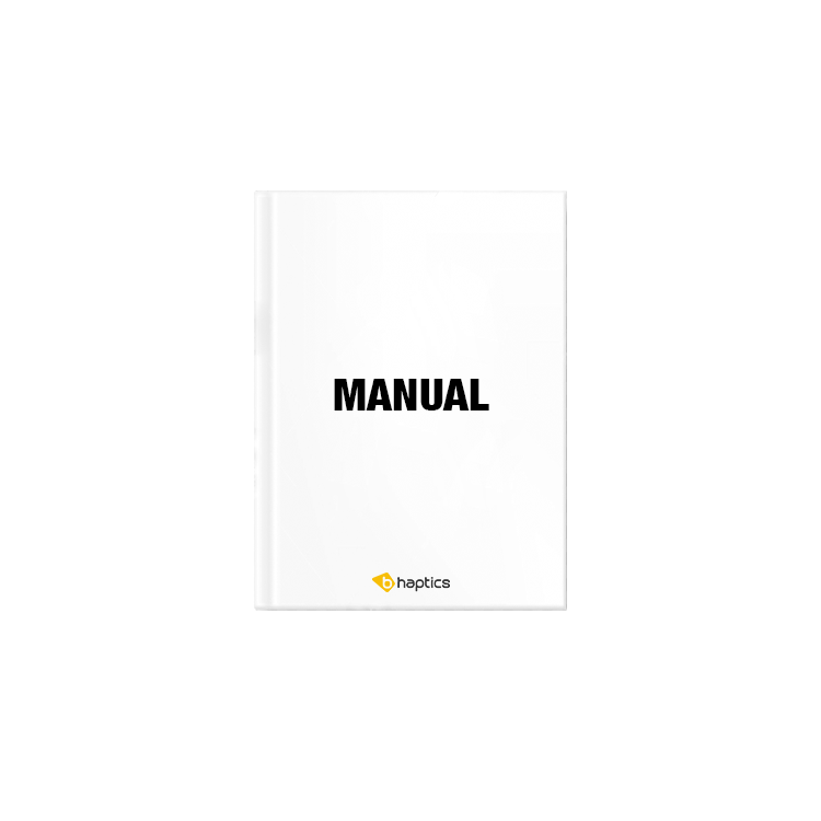 Manual(Tactosy for Hands) x1