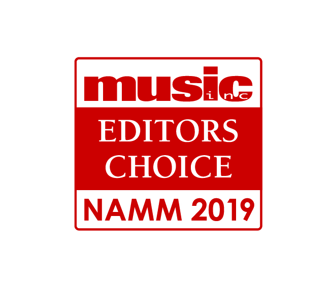 Music, Inc. Magazine's Editor's Choice, NAMM 2019 -