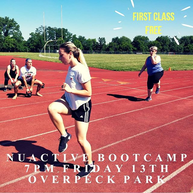Tonight 7pm, Friday 13th, NuActive Bootcamp at Overpeck Park. First class is FREE!  Msg me for details. . . . . . #nuactivefitness #findyouractive #bootcamp #getyourmoveon #northjersey #freeevent #fitnessinthepark #getinshape #getoutsideandplay #trainhard #sweat #weightloss #fitness #fitlife #personaltrainer #fitfluential #noexcuses #bergencounty #leonia #fortlee #teaneck #paramus #englewoodcliffs #hackensack #hasbrouckheights #fairlawn #franklinlakes #overpeckpark